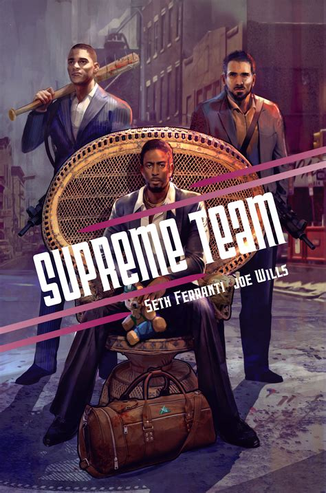 supreme team preview the new supreme team comic book here don