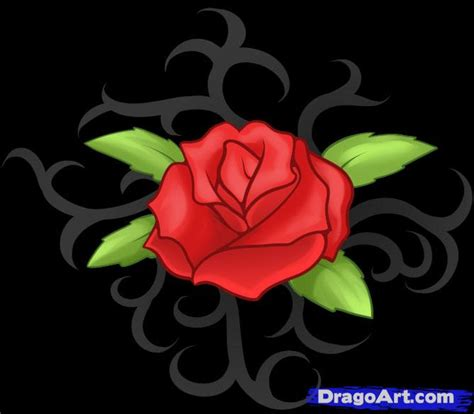 learn how to draw a rose tattoo tattoos pop culture