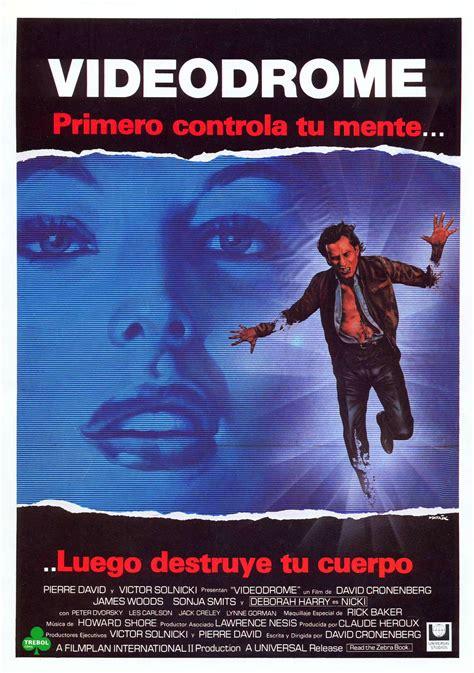 Or Poster Videodrome 1983 Poster David Cronenberg