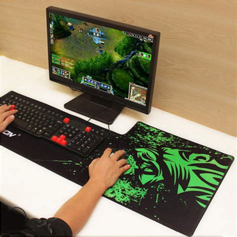 Mouse Gaming Xcraft X2000 Free Mousepad rakoon 40x90cm breach anti slip 3d mouse pad gamer large professional gaming mousepad grande