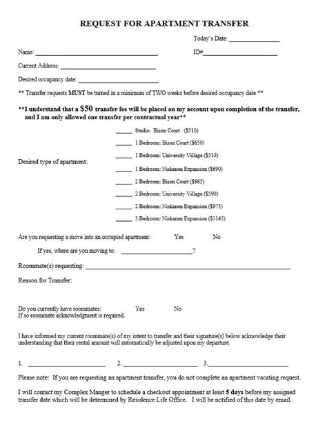 Lease Assignment Request Letter assignment of lease template
