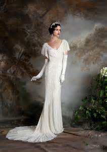 20 art deco wedding dress with gatsby glamour chic
