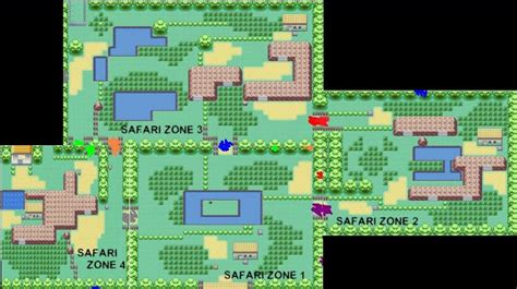 layout of safari zone in fire red event safari week begins pok 233 mon amino