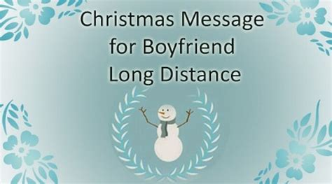 christmas message  boyfriend long distance merry christmas wishes