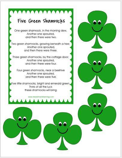 day songs free 178 best images about st patricks day crafts and lesson