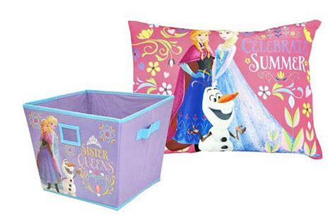 throw pillow storage kohl s cardholders disney s frozen storage bin throw