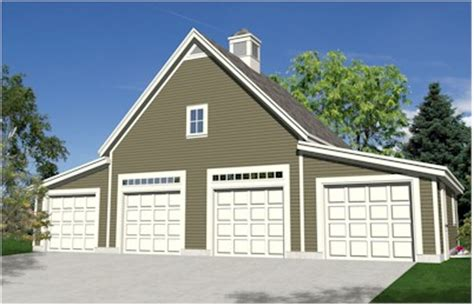 4 stall garage plans 4 bay garage with loft log garages garden oak four car garage plans
