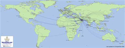 emirates destinations popular 183 list emirates route map