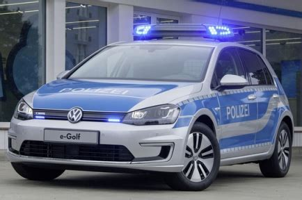 E Golf Autonomy by The Volkswagen E Golf For German Police Auto Paradise Parts