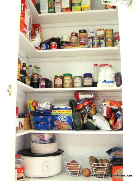 Diy Kitchen Pantry Shelves by Kitchen Pantry Makeover Diy Installing Wood Wrap Around