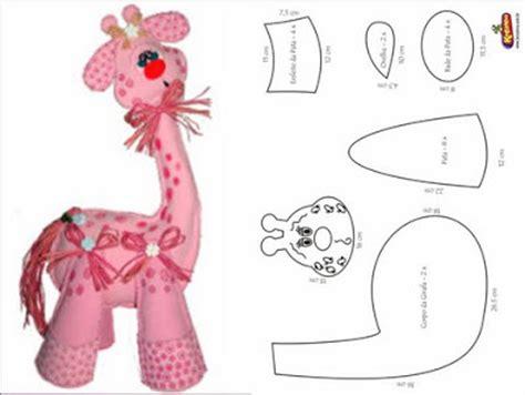 imagenes de jirafas manualidades jirafa en fomi lodijoella
