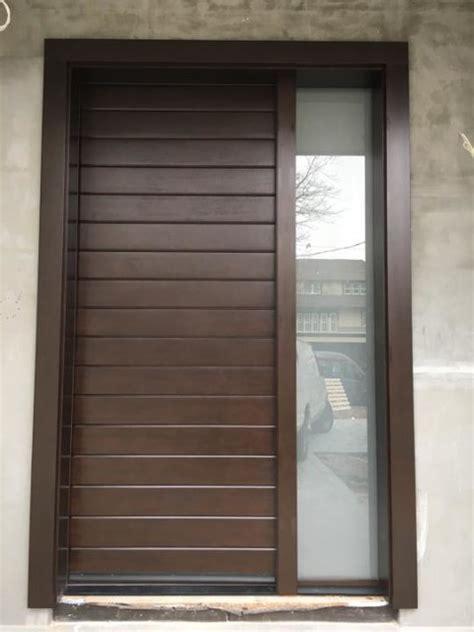 Custom Size Exterior Doors Fiberglass Contemporary Custom Fiberglass Door With Sidelight Modern Entry New York By Grand Doors