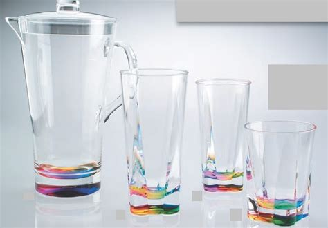 plastic barware wonderful acrylic drinkware home design ideas how to
