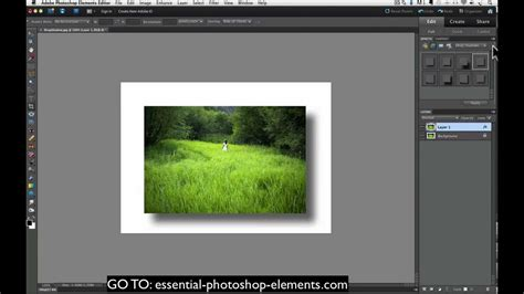 how to your to drop it how to add a drop shadow to your photos with photoshop elements