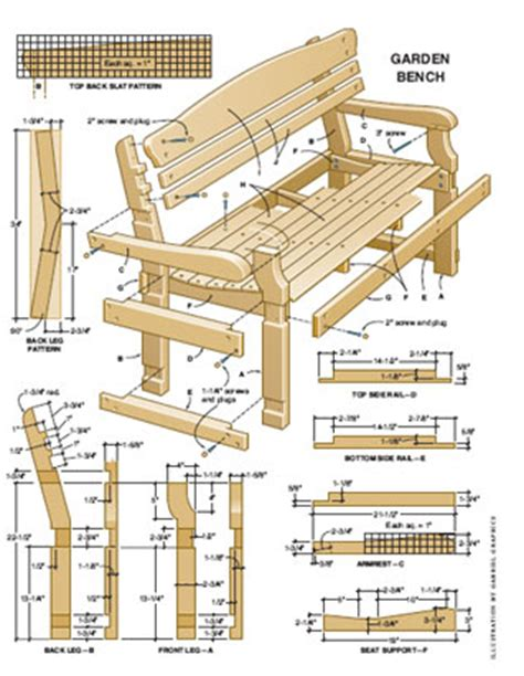garden bench plans free shed plans vipgarden building plans build a garden shed