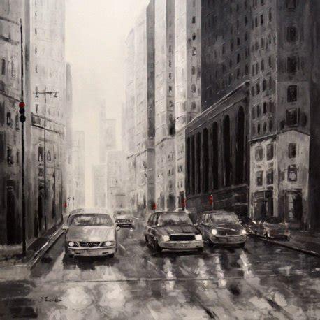 imagenes en blanco y negro nueva york cuadro coches nueva york blanco y negro emilio rubio