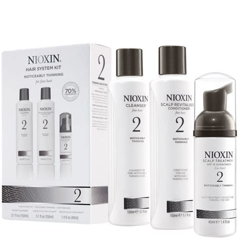 nioxin hair system kit 2 for noticeably thinning natural nioxin hair system kit 2 for noticeably thinning natural
