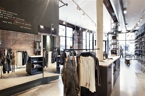 nudie jeans  york store  open  changing