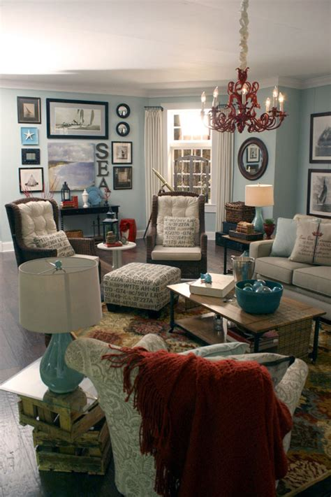 themed living room ideas remodelaholic beach themed living room