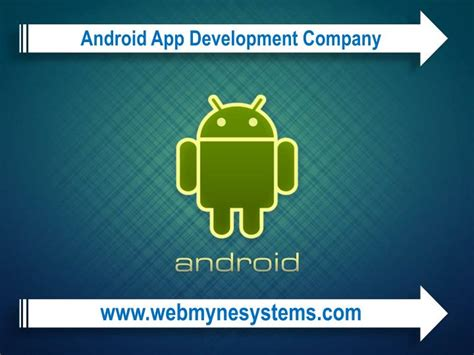 programming with android system architecture ppt video ppt android application development company powerpoint