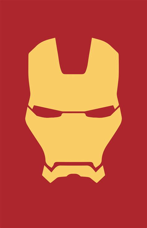 iron man helmet minimalist design by burthefly on deviantart