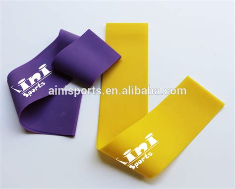 Custom Printed Elastic Bands by High Quality Thera Band Custom Printed Resistance Bands