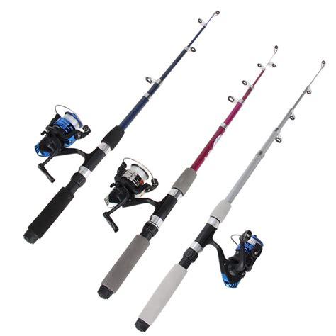 swing set troline combo 1 5m 1 8m fishing rods reels kit floats outdoor fishing