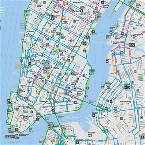 nyc five boro map by vandam laminated pocket city map w attractions in all 5 boros of ny city manhattan the bronx st island w new subway map 2017 edition streetsmart books image gallery manhattan map 2015