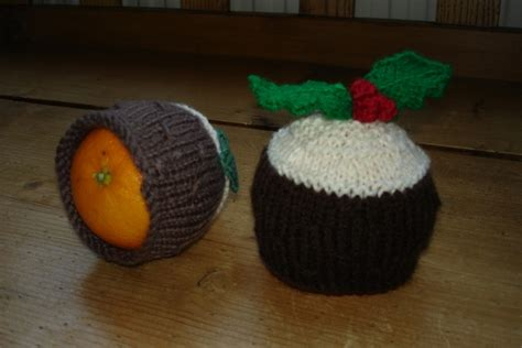 knitting pattern christmas pudding knitted christmas pudding chocolate orange holder 163 5 00
