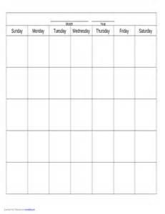 calendar template free blank calendar template free