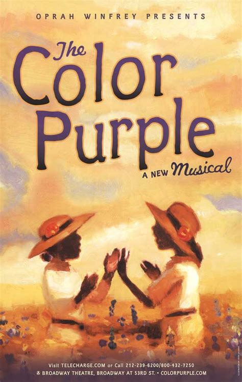 the color purple on broadway the color purple broadway posters from