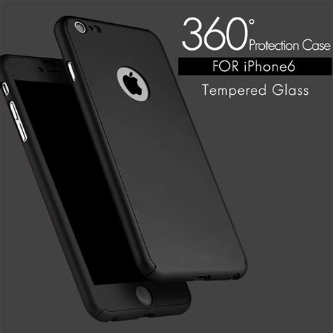 360 Iphone 66s Plus funda 360 iphone 5 6 6 se 6s 6s plus vidrio templado