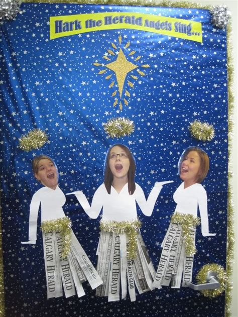 Sweepstakes Ideas - funny christmas door decorating contest ideas