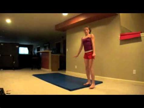 home tricks gymnastics tricks youtube