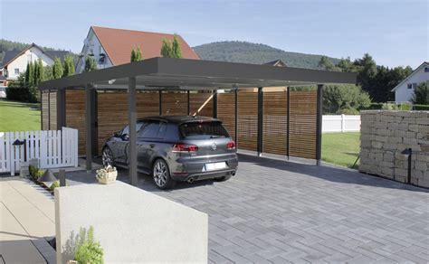 Design Carport Holz by Beautiful Design Carport 2 Slider Vordach Holz