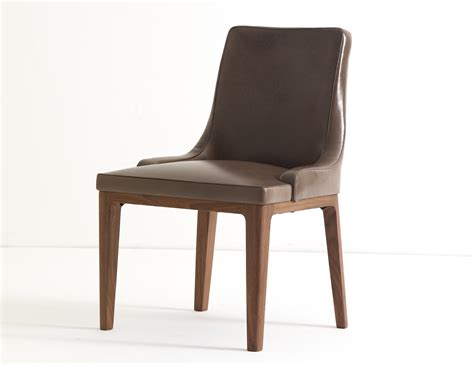 Dining Chair by Ulivi Lola Brown Leather Dining Chair Nella Vetrina