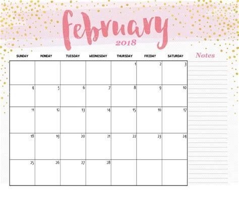 cute february  calendar   heart