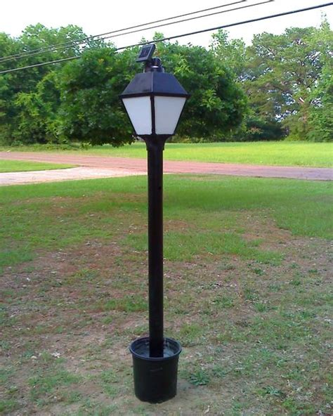Solar Powered Post Lights by Solar Powered Led L Post All