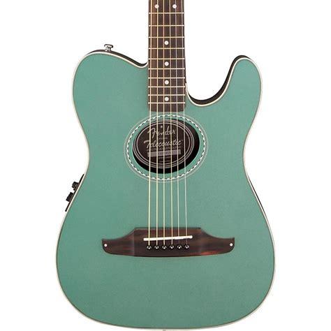 Gitar Akustik Fender List fender telecoustic plus acoustic electric guitar sherwood