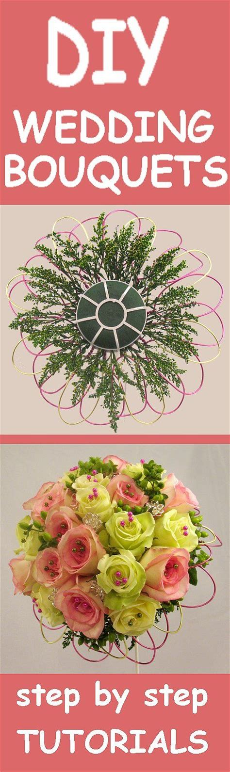 Wedding Bouquet Tutorial by Wedding Bouquet Ideas Free Flower Tutorials Learn How To