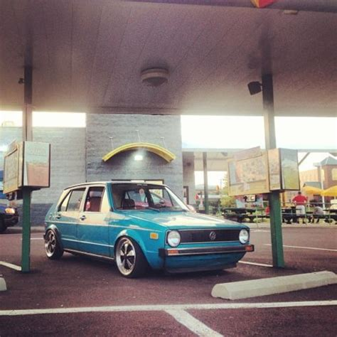 volkswagen rabbit custom buy used 1976 custom bagged vw rabbit swallowtail full