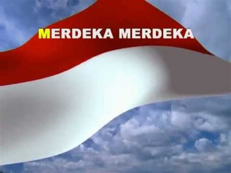 lagu indonesia raya  teks youtube