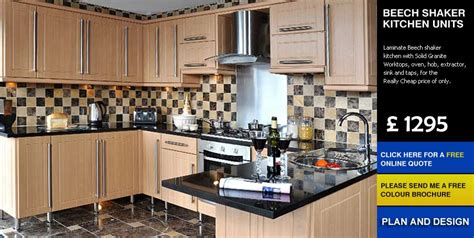 cheap kitchen cabinets uk beech shaker affordable cheap kitchens