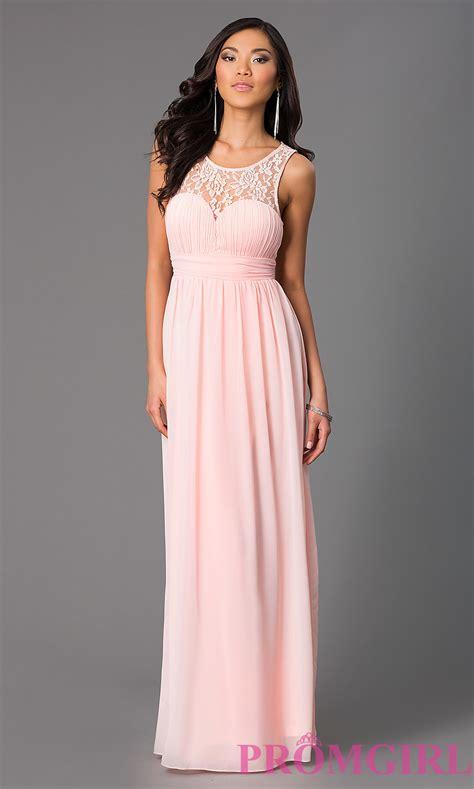 Formal Dressers by Sleeveless Floor Length Chiffon Prom Dress Promgirl