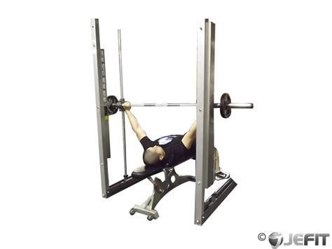 bench on smith machine smith machine wide grip bench press exercise database
