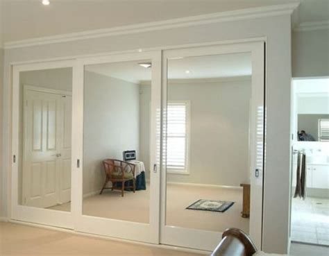 whole wall sliding glass doors 20 mirror closet and wardrobe doors ideas shelterness