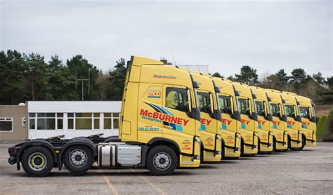 irishtrucker mcburney transport group adds   trucks