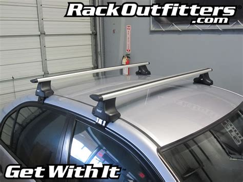 Thule 480r Traverse Aeroblade Roof Rack by Honda Civic Sedan With Thule 480r Traverse Aeroblade Roof