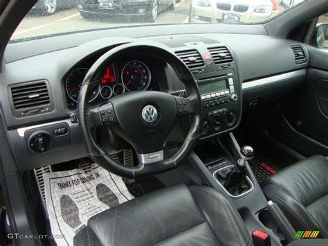 2008 Gti Interior by Anthracite Black Interior 2008 Volkswagen Gti 4 Door Photo