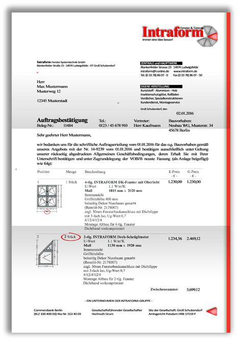 Firmen Angebot Muster Angebotsbest 228 Tigung Seite 4
